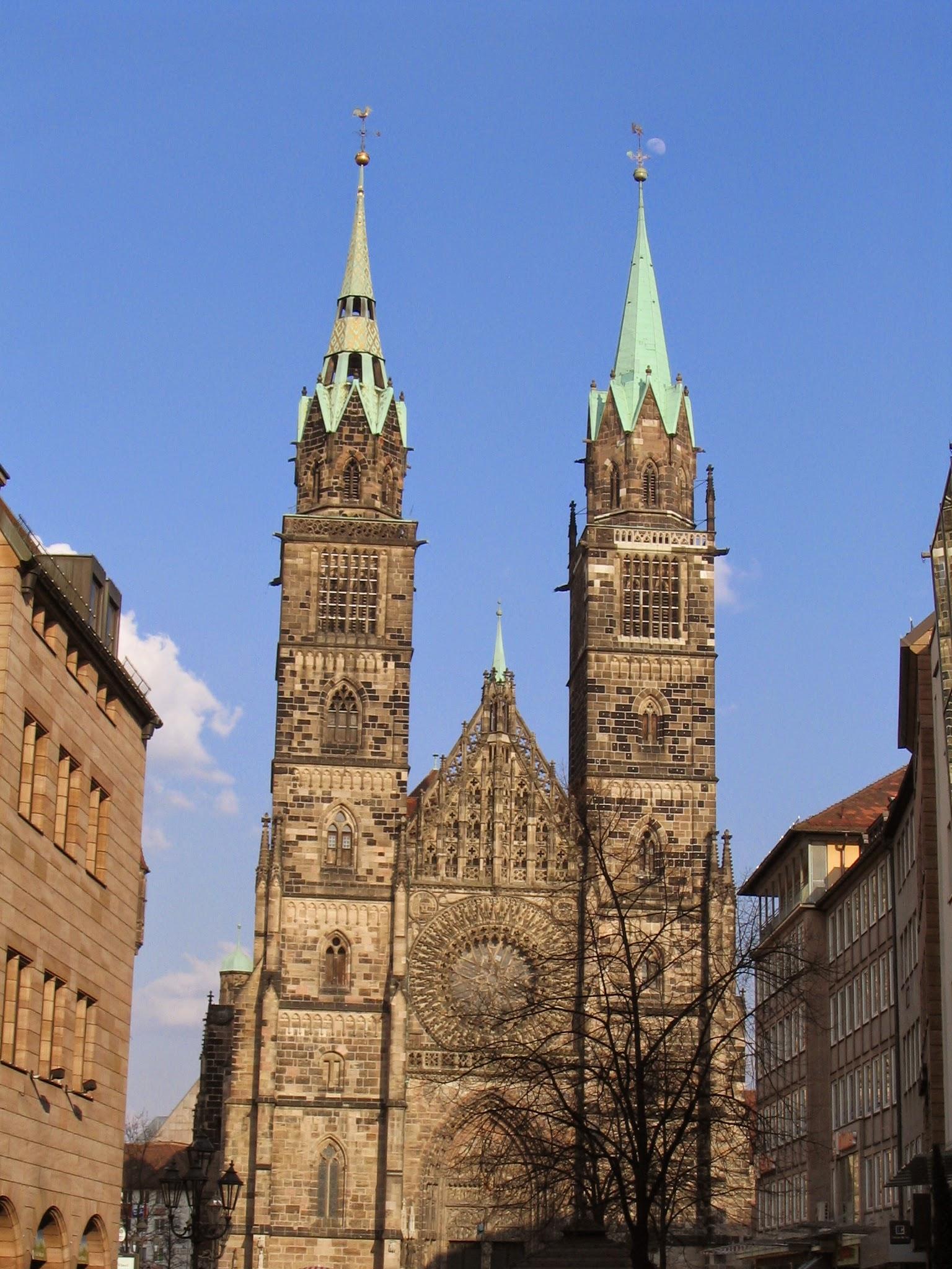 St.Lorenz church - Nuremberg (Lorenzkirche)