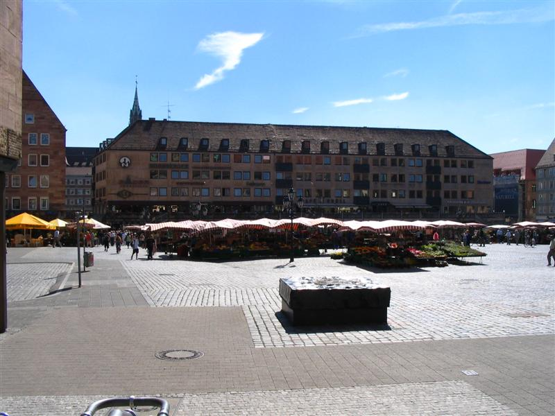 Nuremberg street Places - Main Market