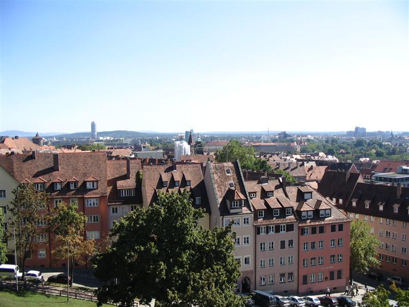 Nuremberg webcam panorama